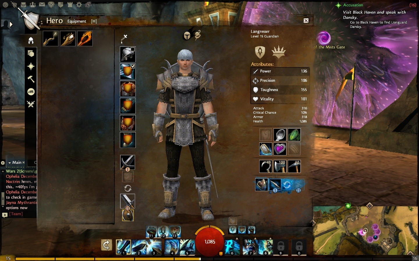 gw2 how to get ascended weapons