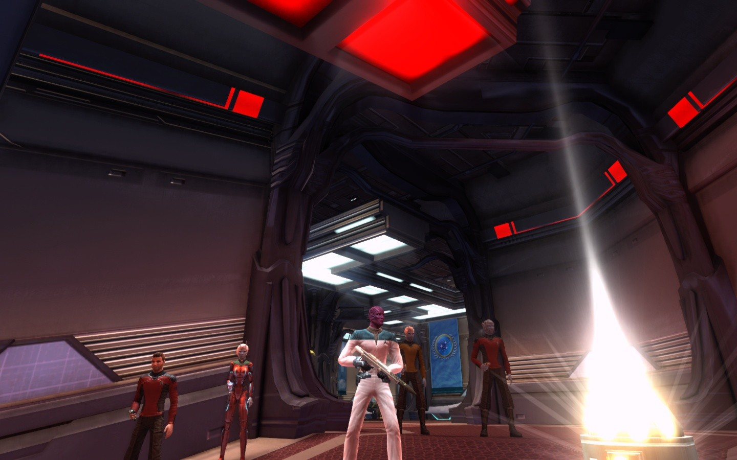 Star Trek Online - Think it is time to beam out...