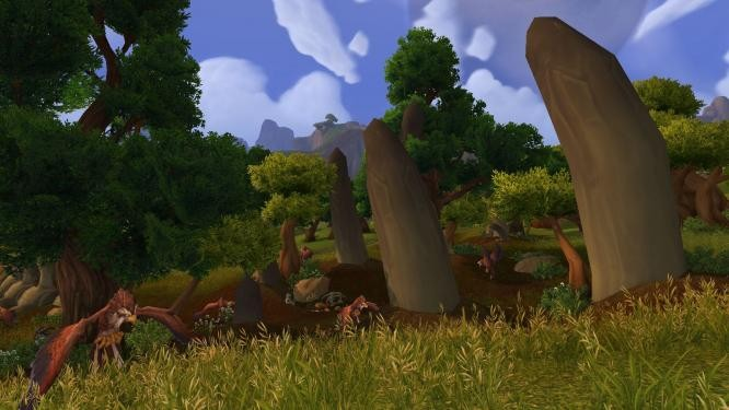 World of Warcraft - Nagrand...can you say graphics upgrade?