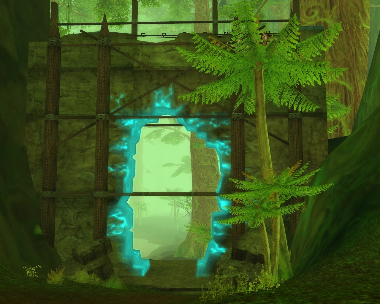 Aion, it can be so green