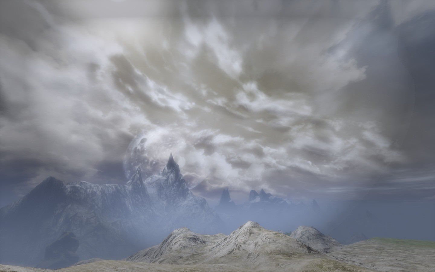Mortal Online - Misty Mountains in MO
