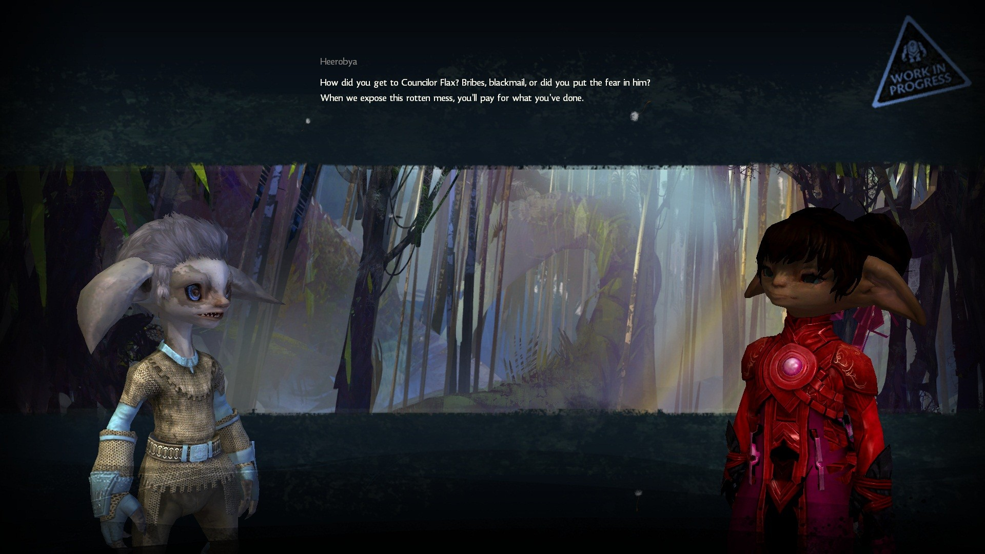 Guild Wars 2 - Some High-Res cutscene action.