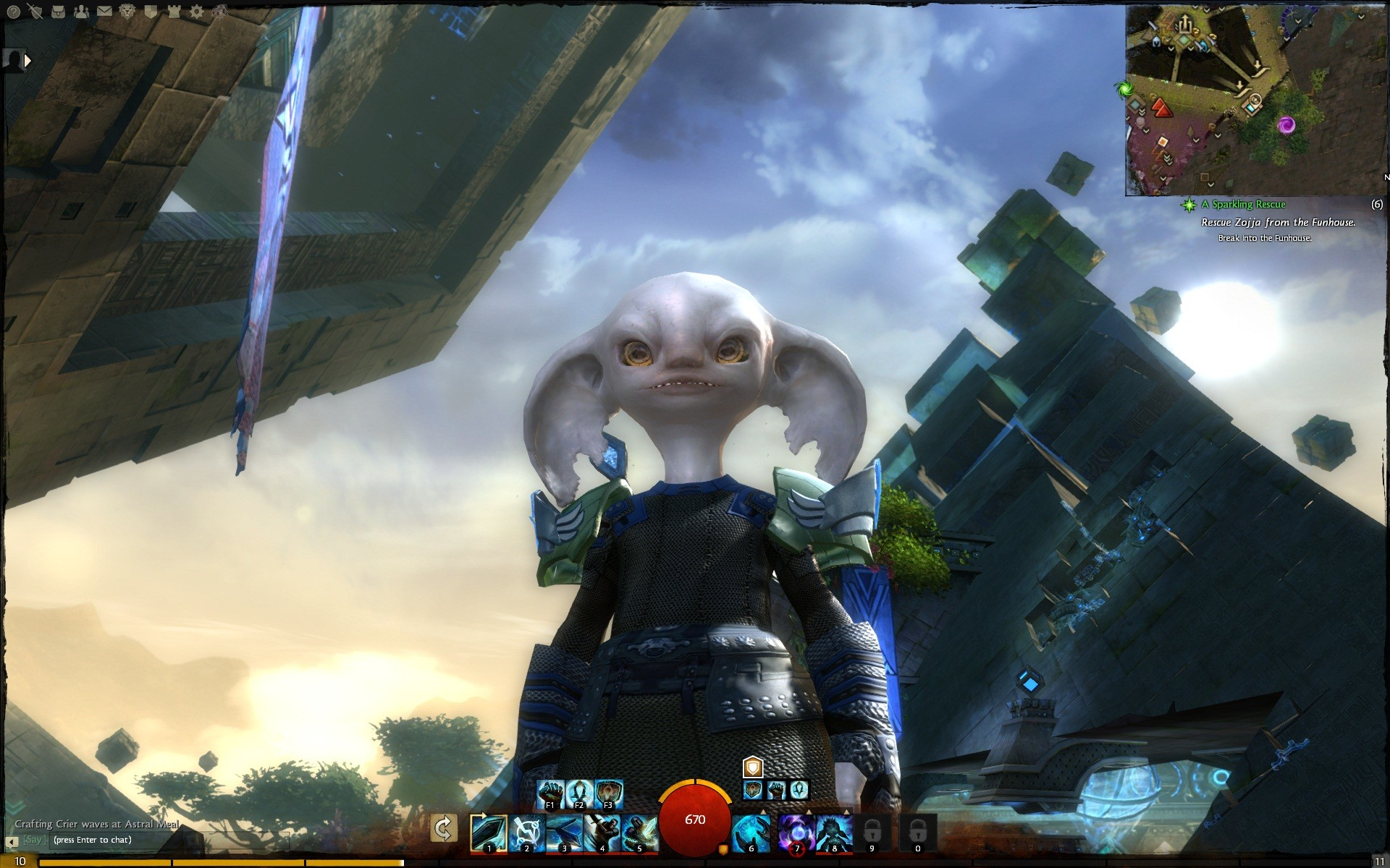 Guild Wars 2 - Asuran Beauty