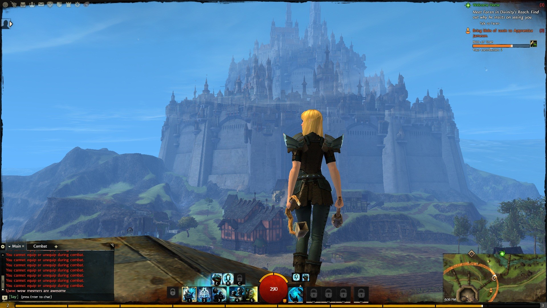 Guild Wars 2 - Now THAT is a city.