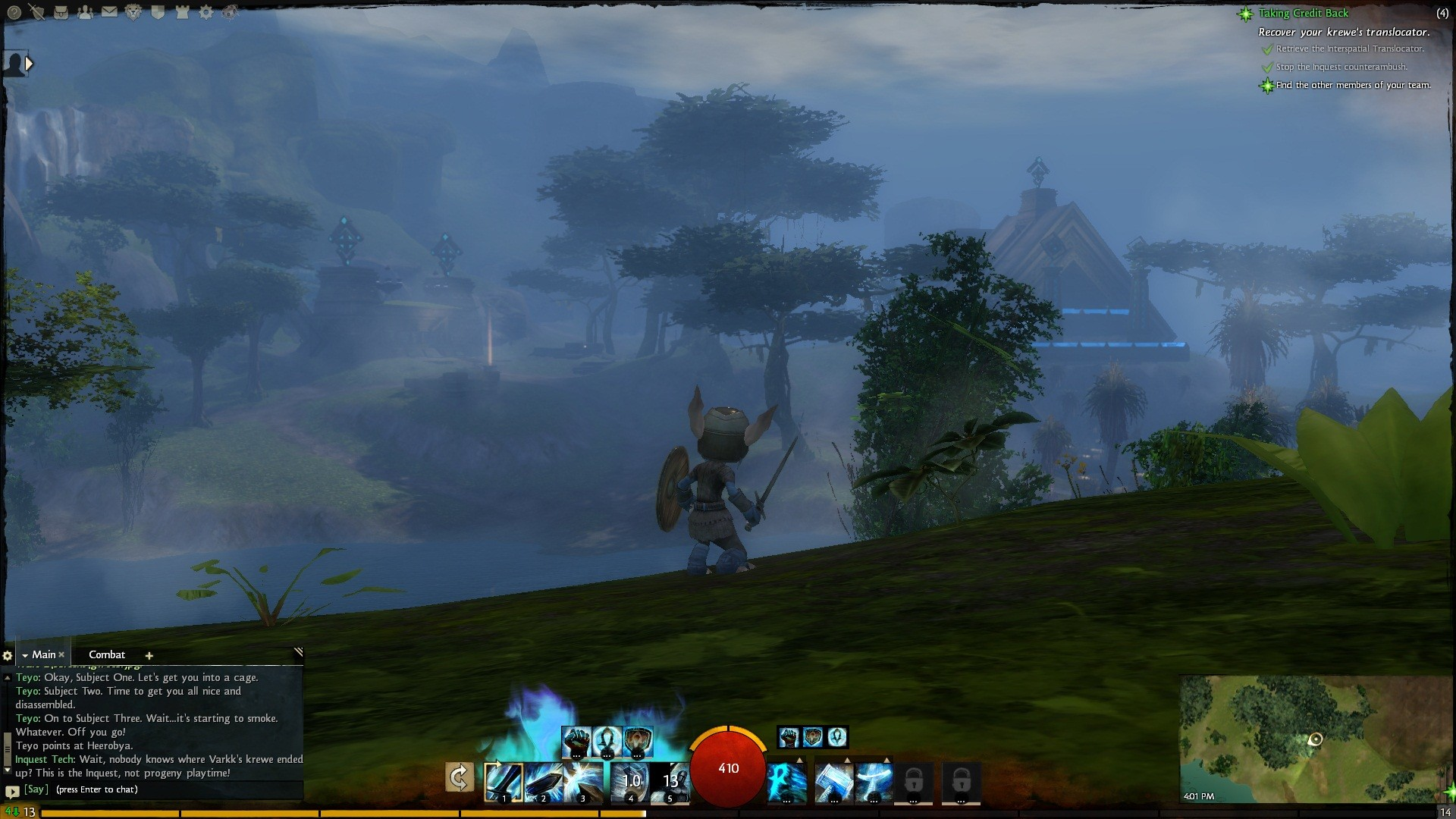 Guild Wars 2 - Foggy.