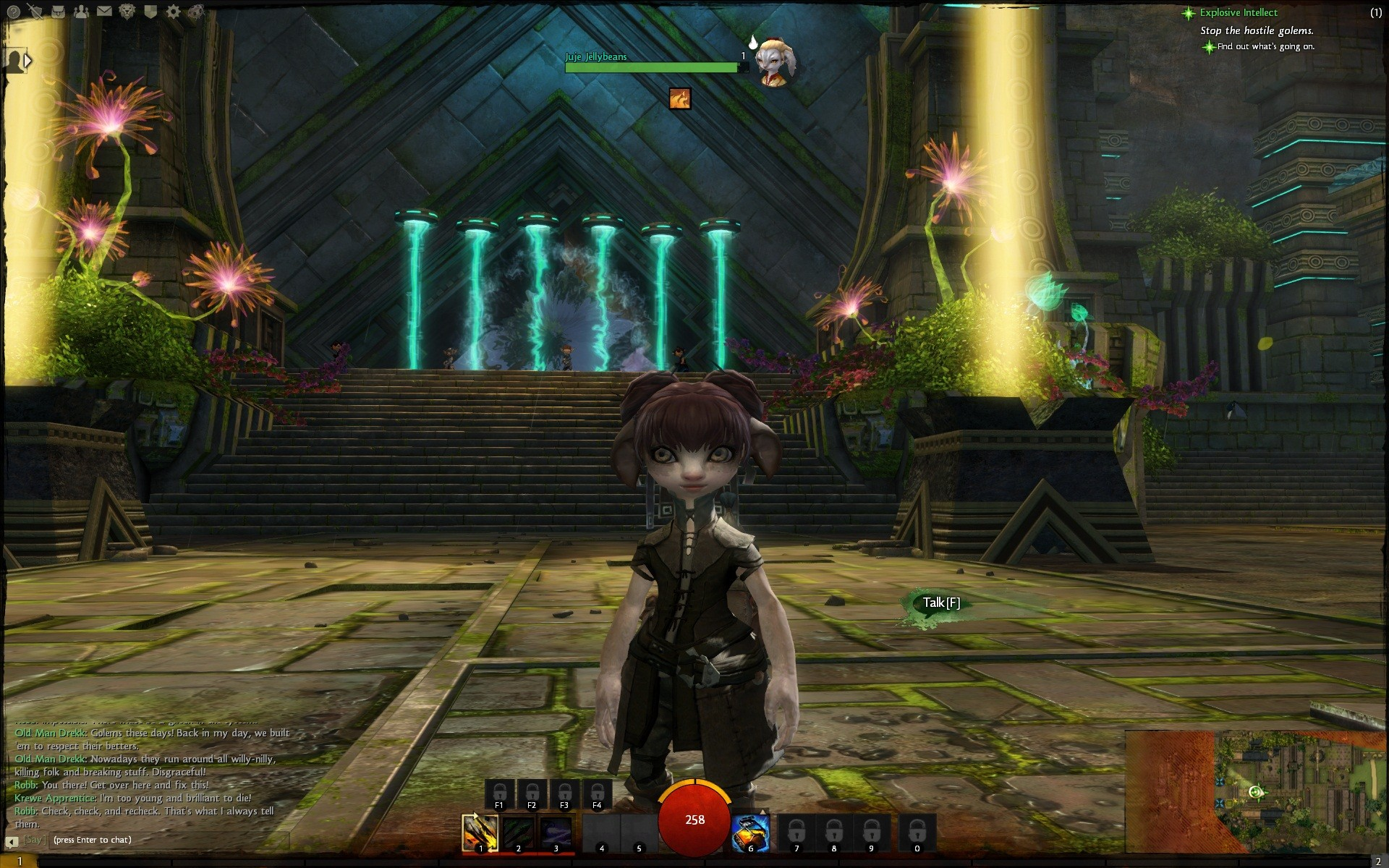 Guild Wars 2 - My Asura - Definitely Remaking her on the 25th!