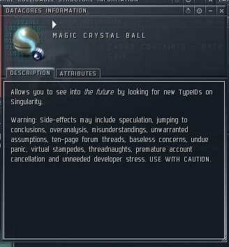 EVE Online - Magic Crystal Ball
