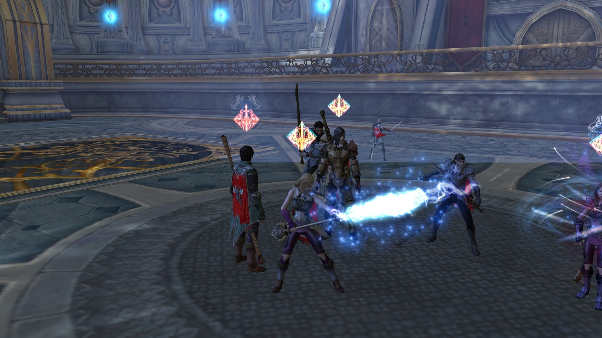 Aion - Glowing Weapons