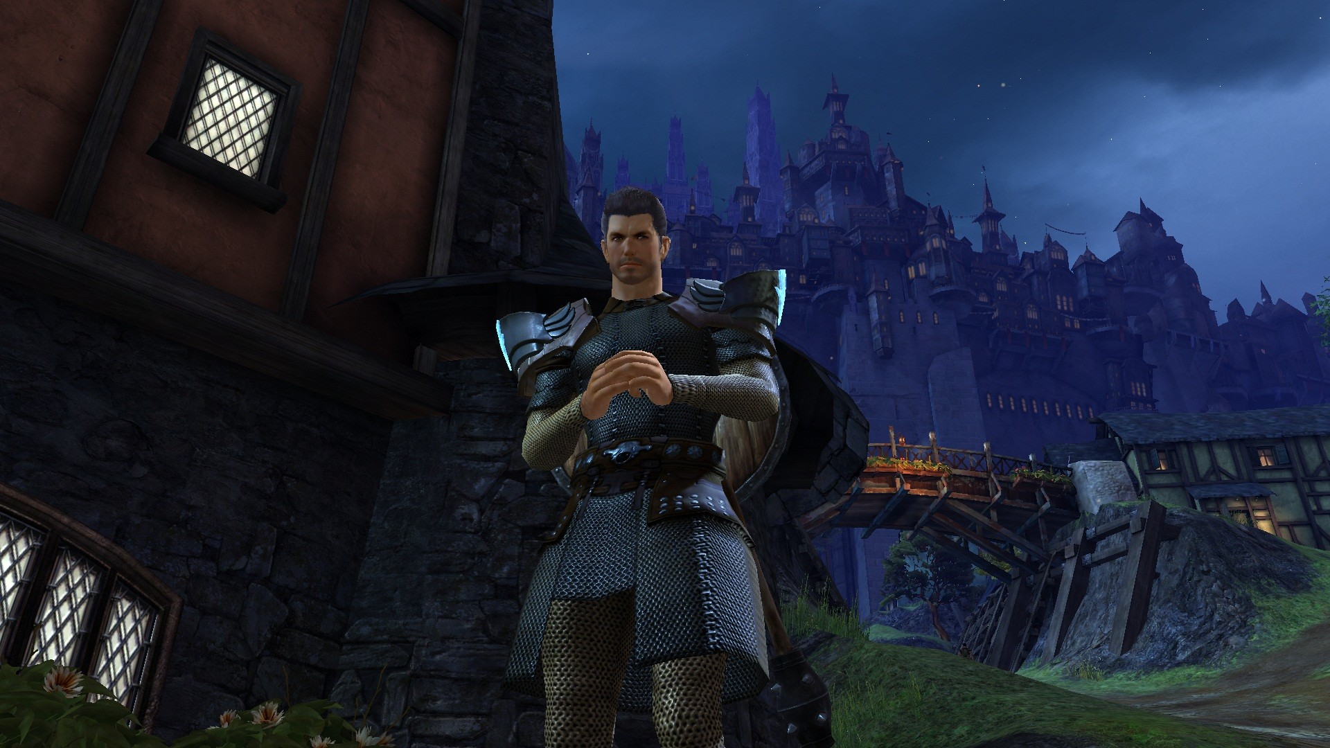 Guild Wars 2 - Tried to make a good looking, bad ass looking, non metro human. Success?