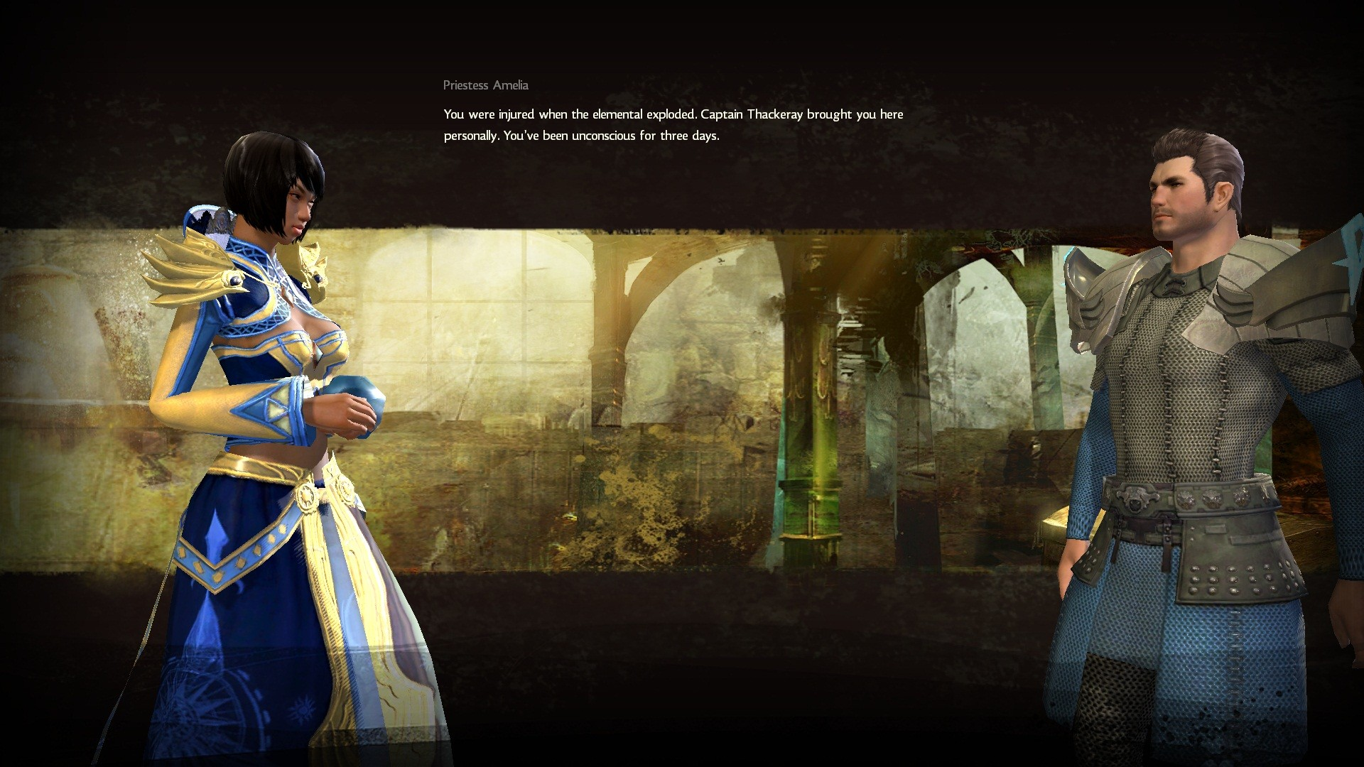 Guild Wars 2 - High-res cutscene.