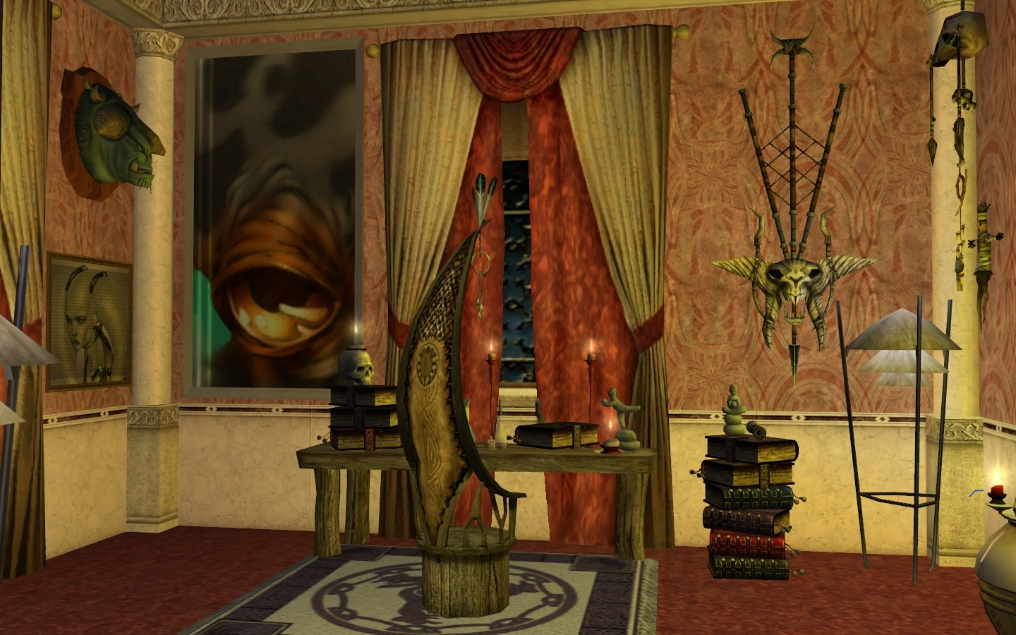 Star Wars Galaxies - The Pikeman's Study