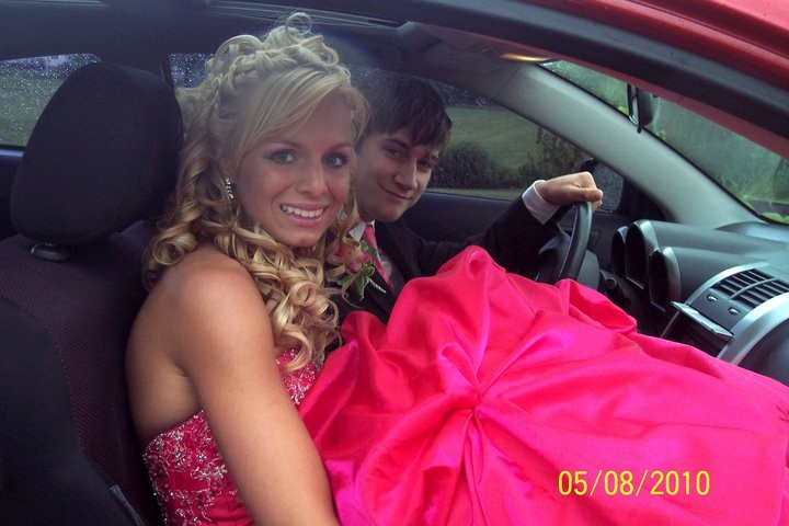 Me and Kristijana in the TC Before Prom.