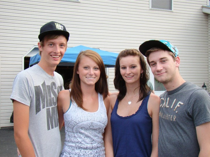 Dylan, Kasey, Taylor and I.