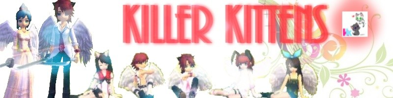 Killer Kittens!! Were fluffy!!! c: