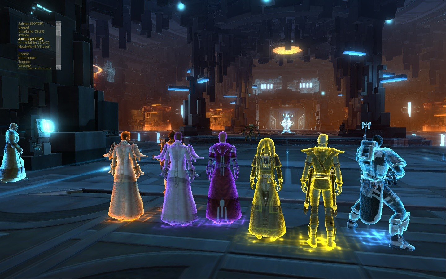Star Wars: The Old Republic - Uh...Tron?