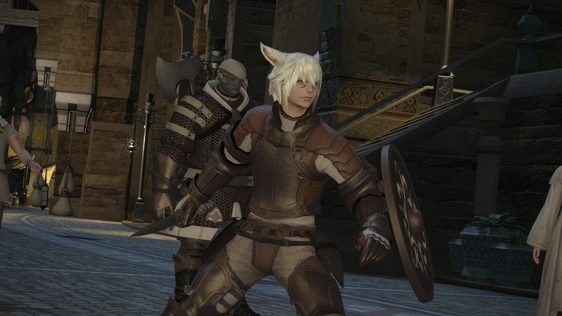 Final Fantasy XIV: A Realm Reborn - That knife looks real intimidating, don't it?