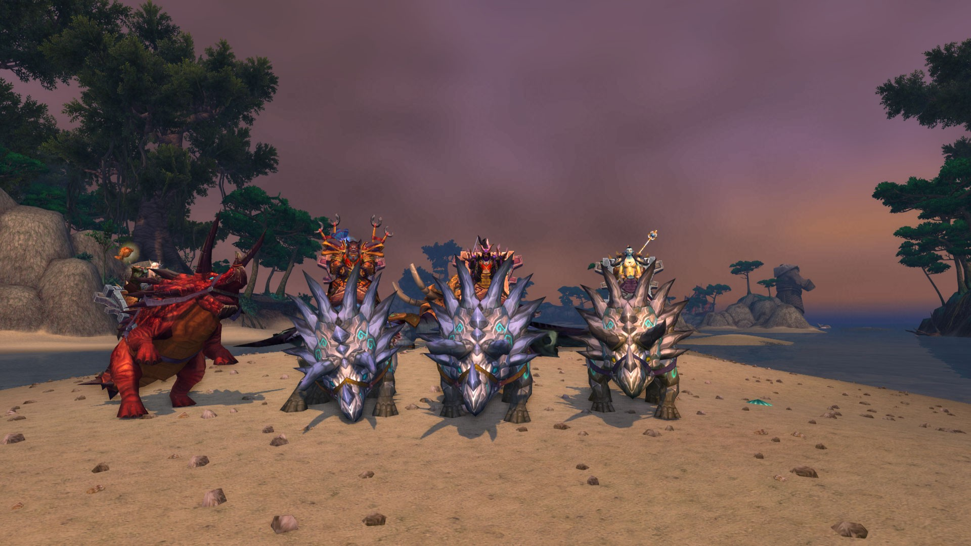 World of Warcraft - Tricera-Powah!