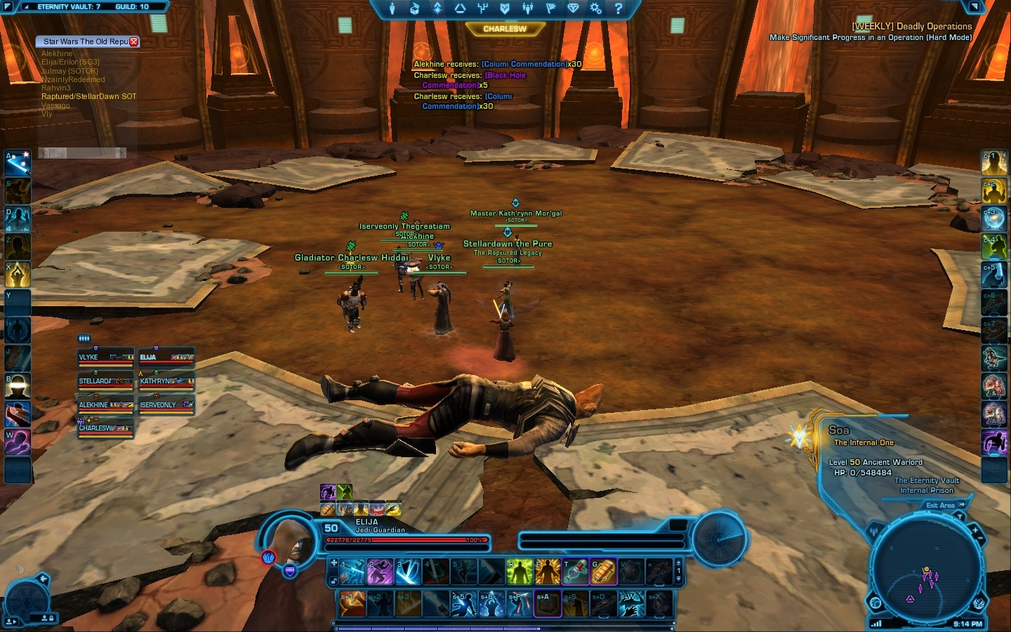 Star Wars: The Old Republic - Us-1, Soa-0. WINNERS!