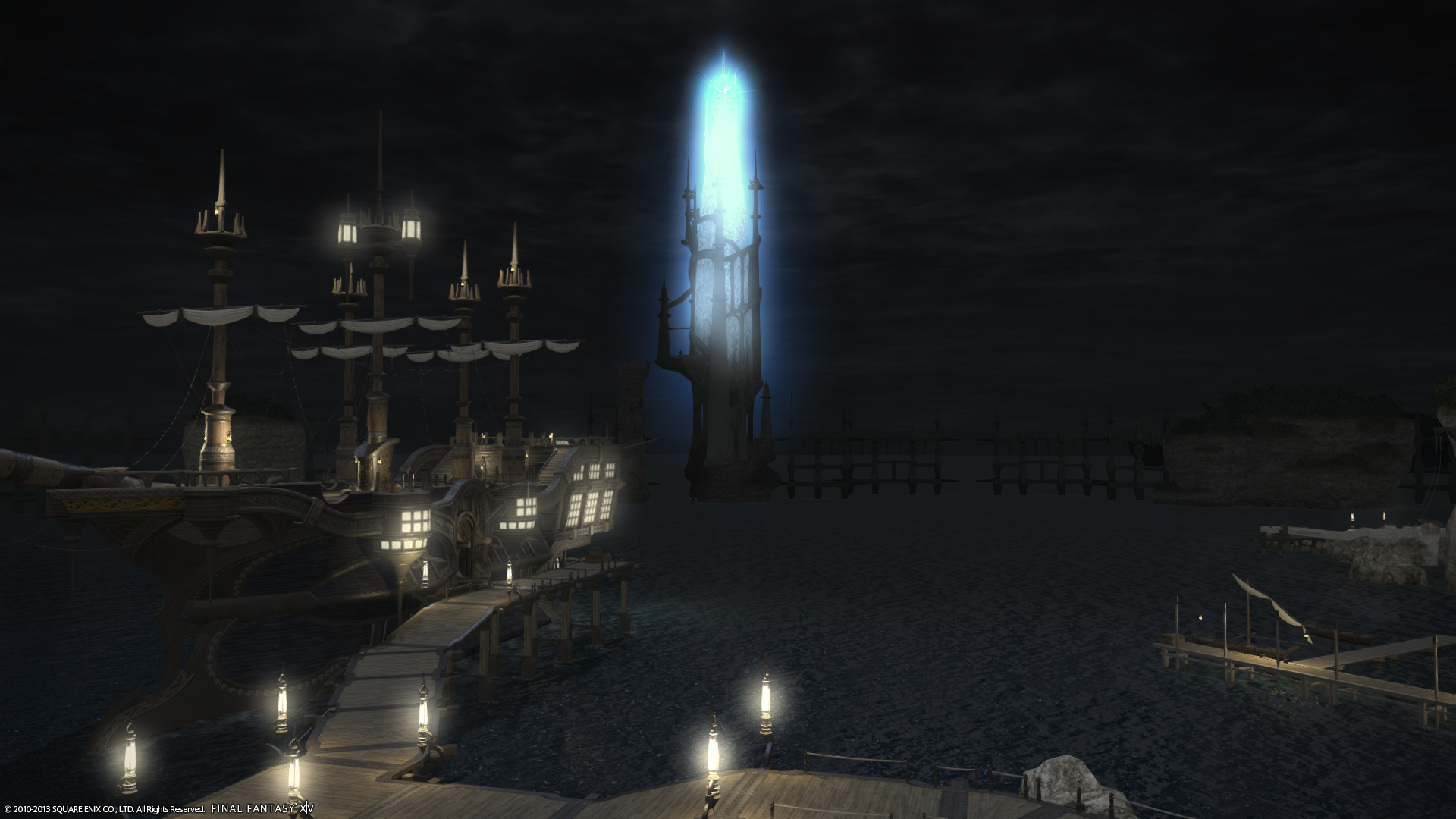 Final Fantasy XIV: A Realm Reborn - thats quite the lighthouse you have there