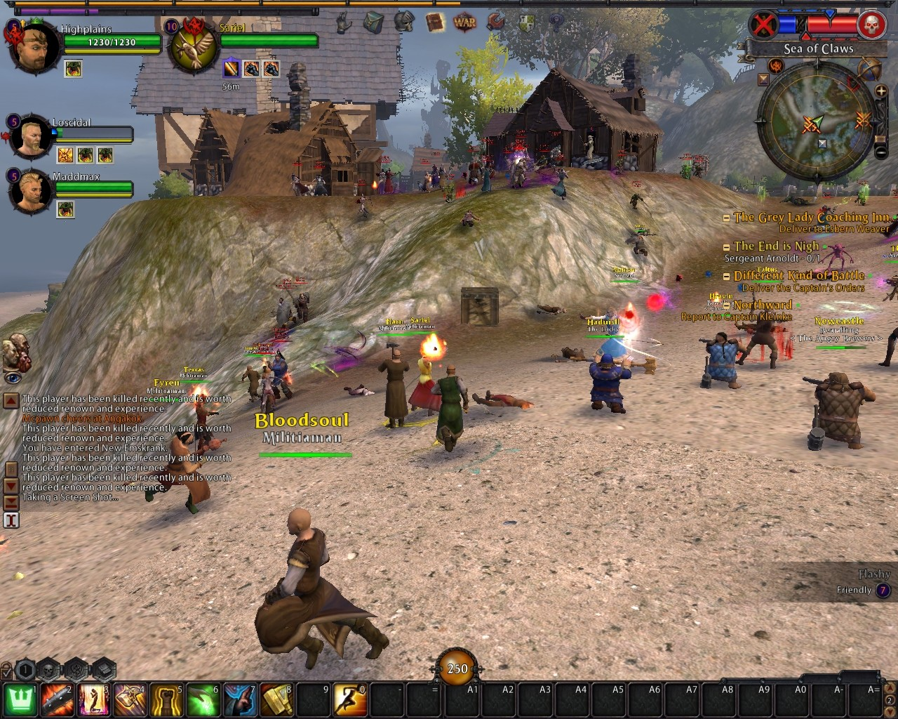 Warhammer Online: Age of Reckoning - RvR - Fastest Framerate for Graphics