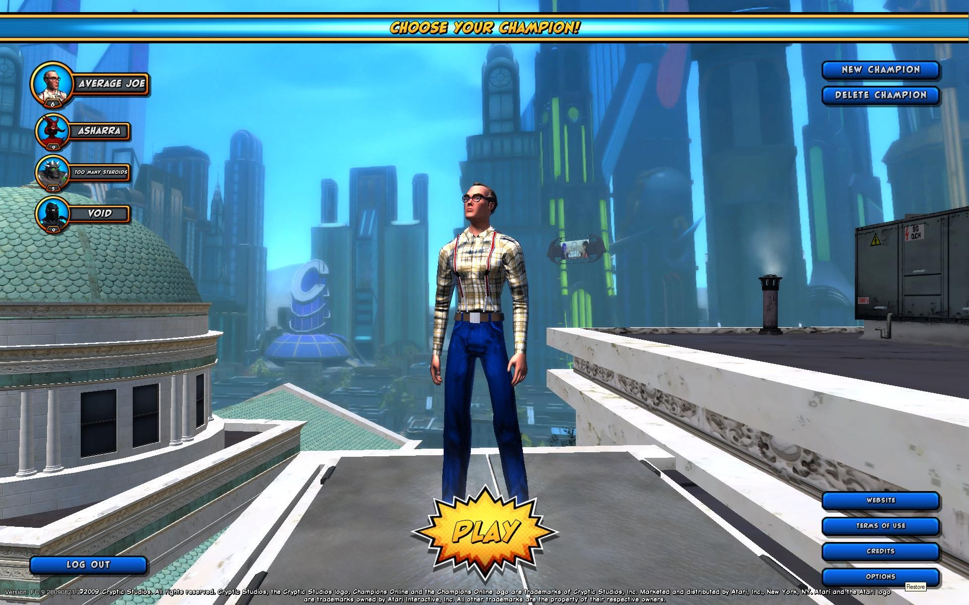 Champions Online - Fun toon to play