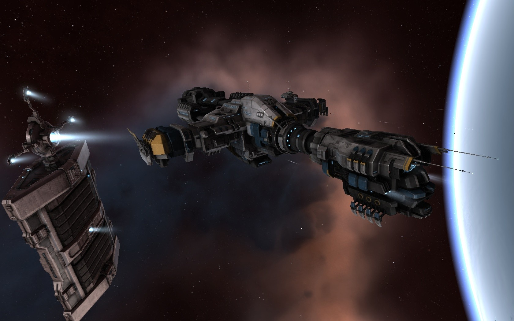 EVE Online - Primae, the new ship from ORE for P.I. fans.