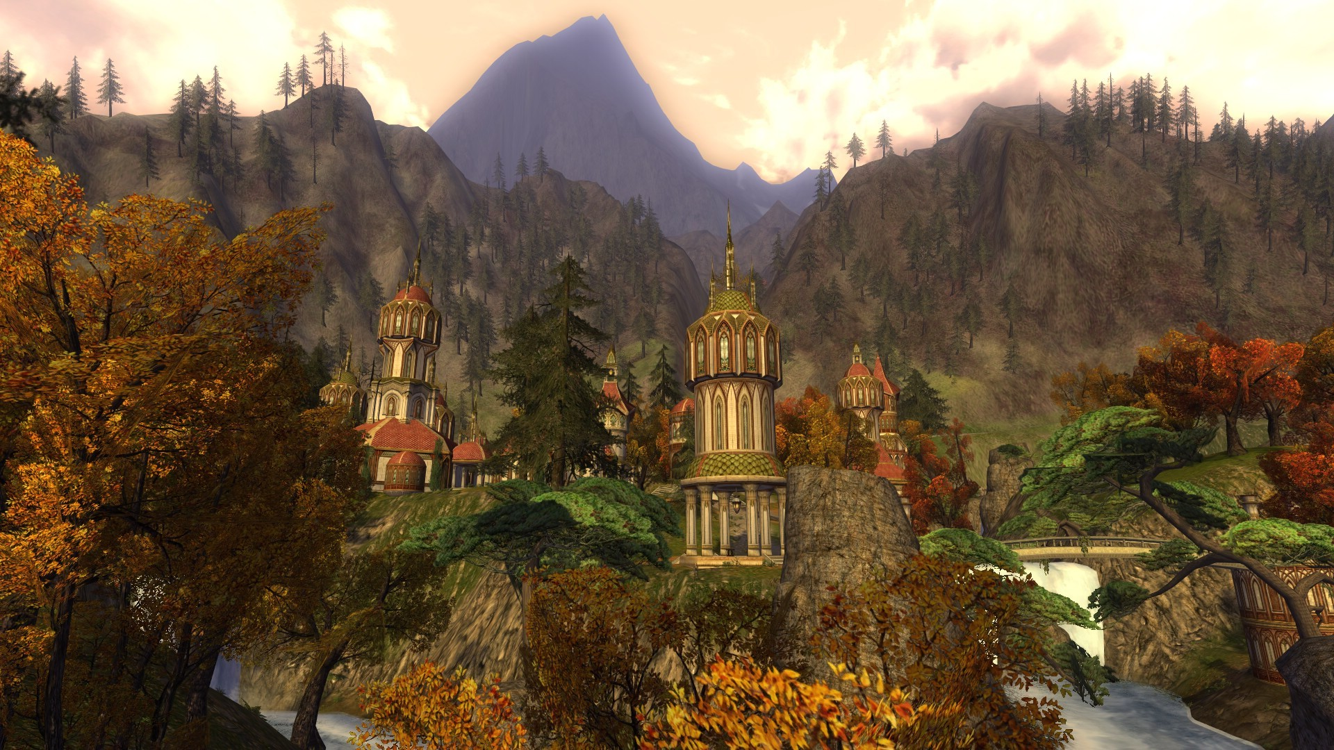 Lord of the Rings Online - ow no..another Rivendell pic.