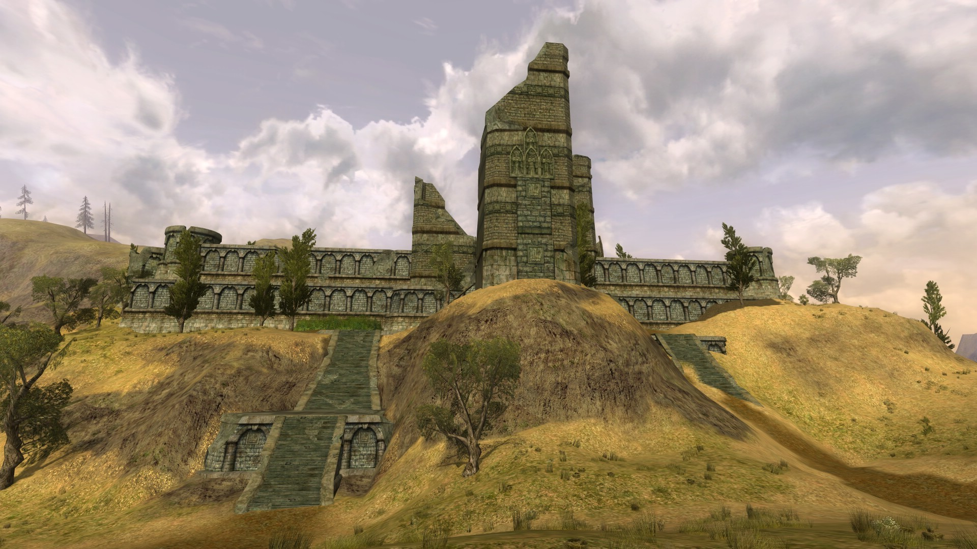 Lord of the Rings Online - Nice ruins..i mean town!