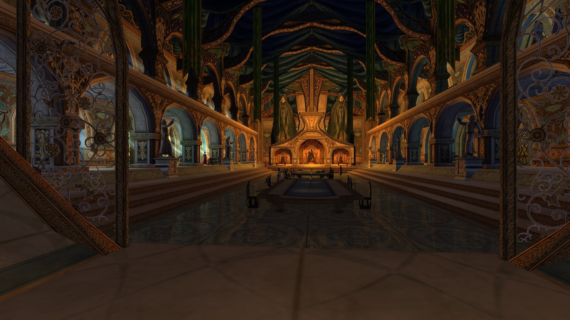 Lord of the Rings Online - Nice hall