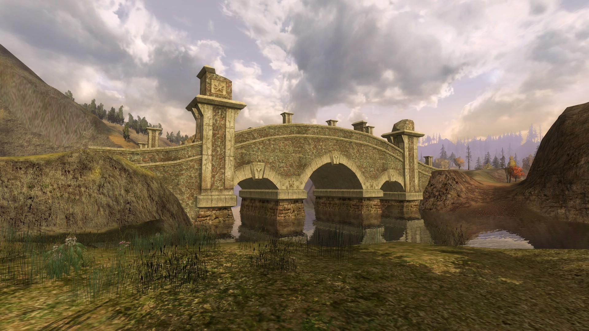 Lord of the Rings Online - Last Bridge between the human and elvish world!