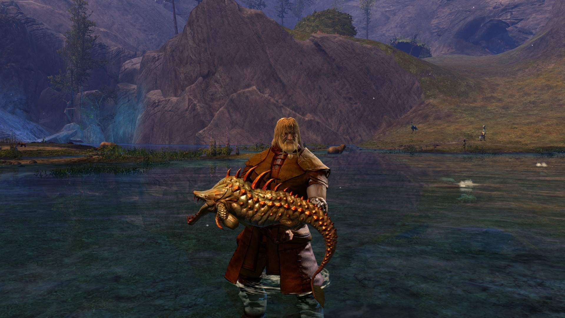 Guild Wars 2 - Fishing, the old fashion way