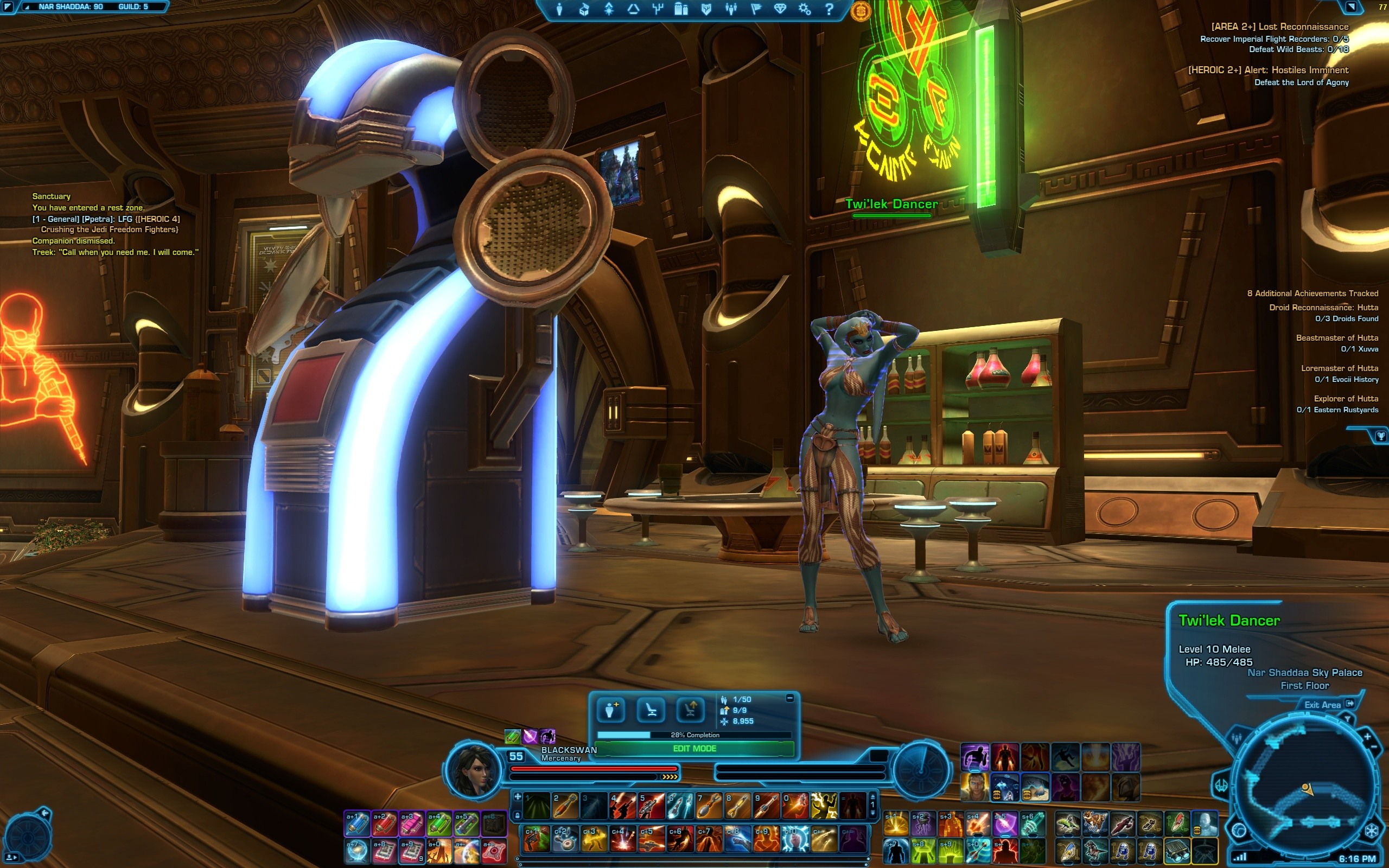 Nar Shaddaa party 1