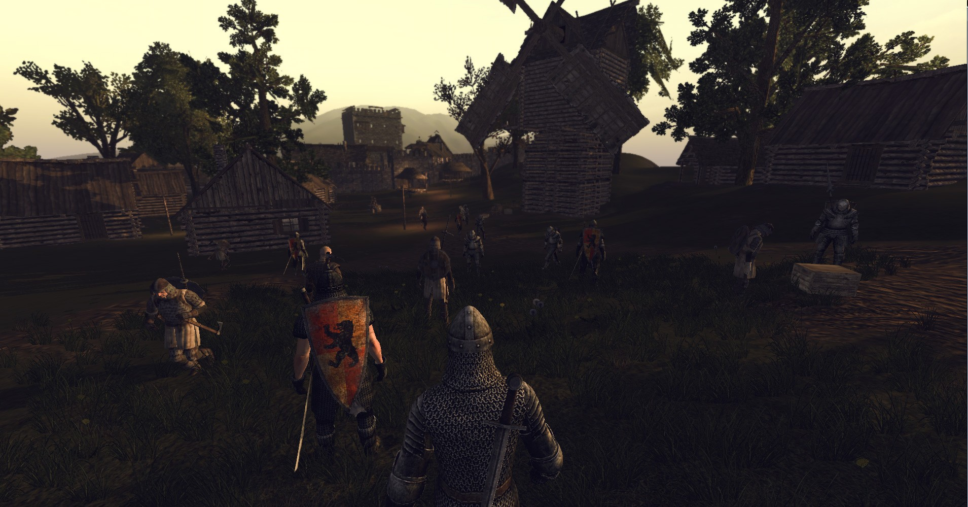 Life is Feudal - gathering troops