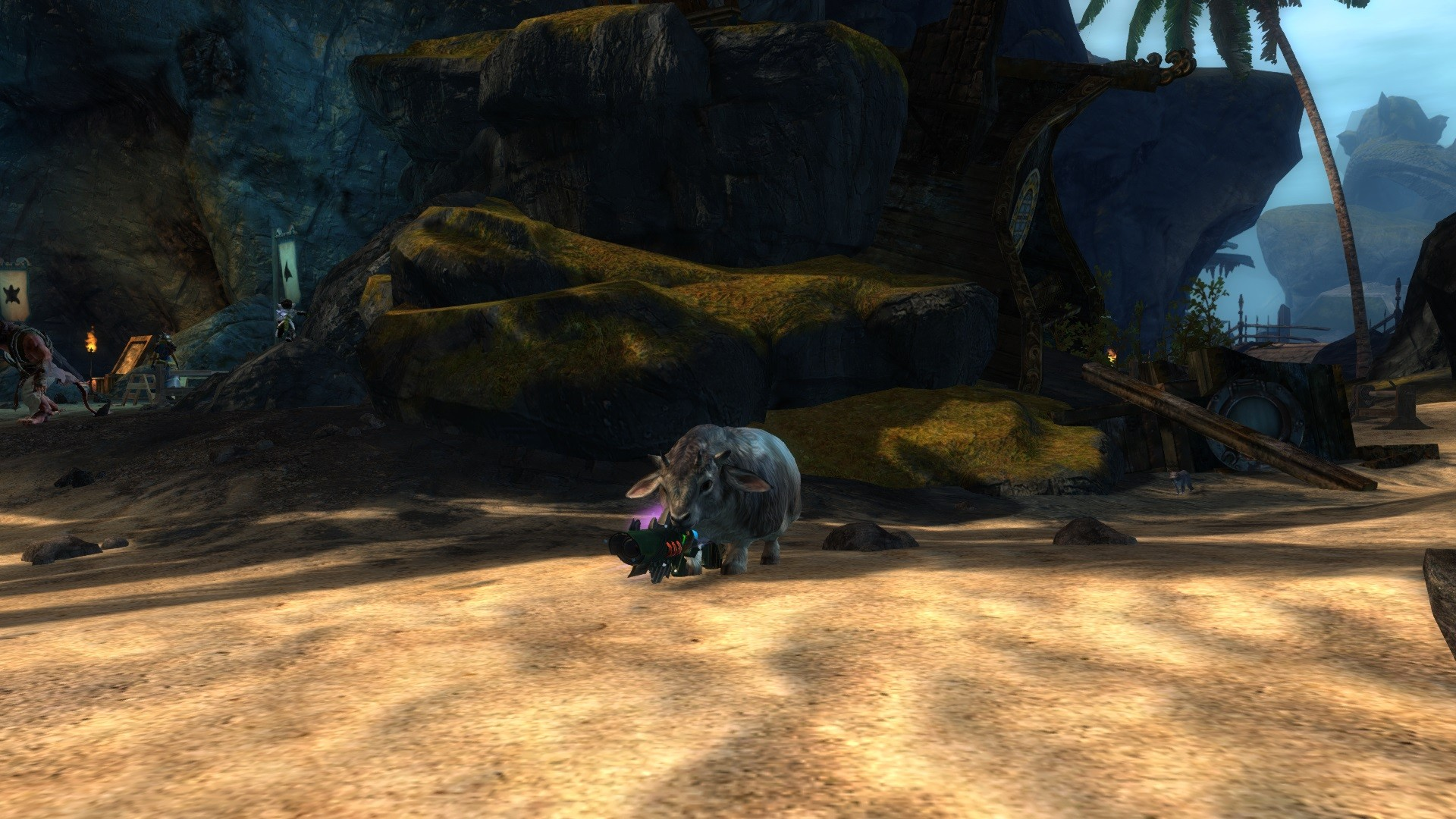 Guild Wars 2 - Time to rob banks with my dolyak