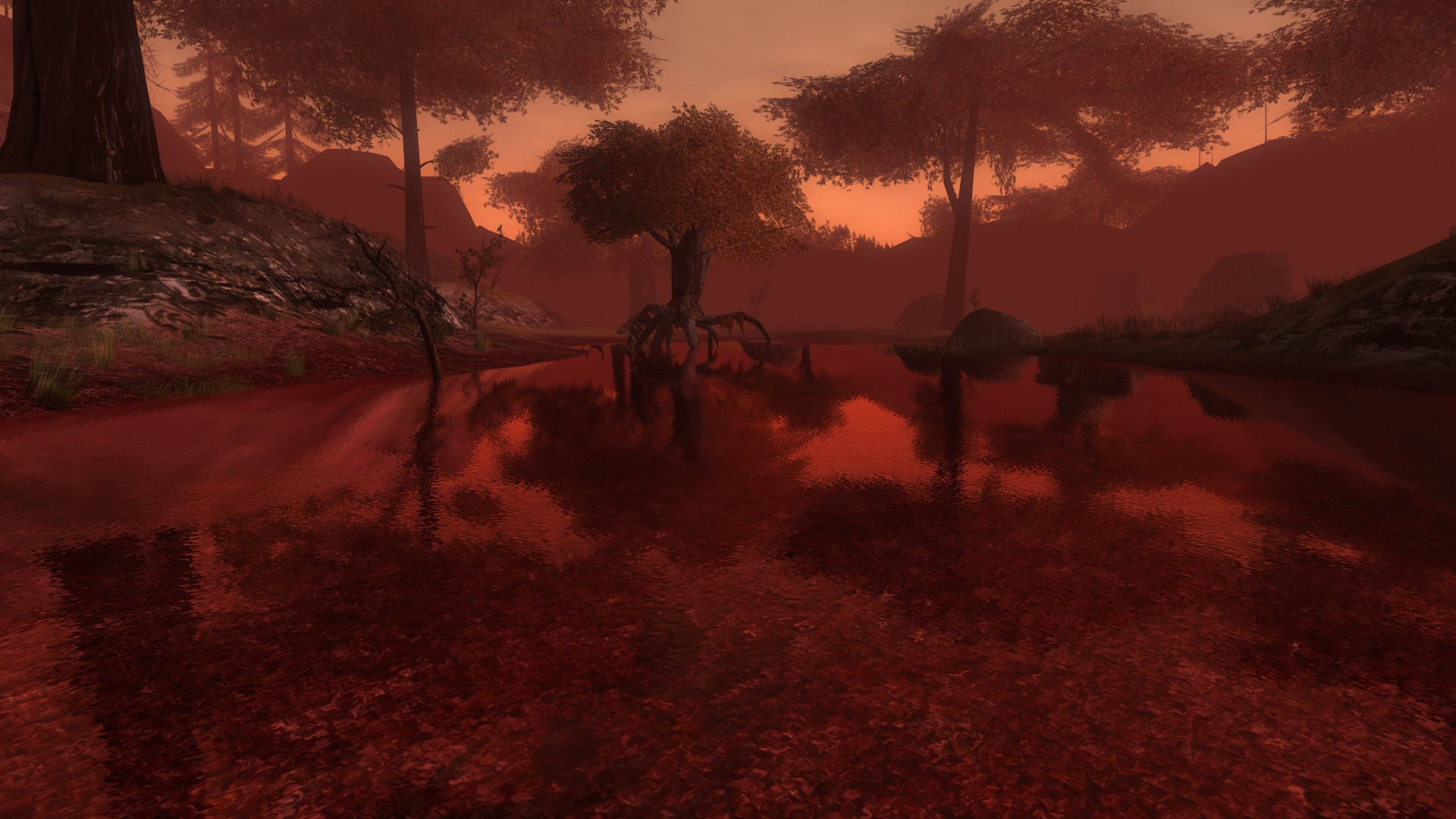 Lord of the Rings Online - When the trees start to walk, grab a flamethrower and some axes.
