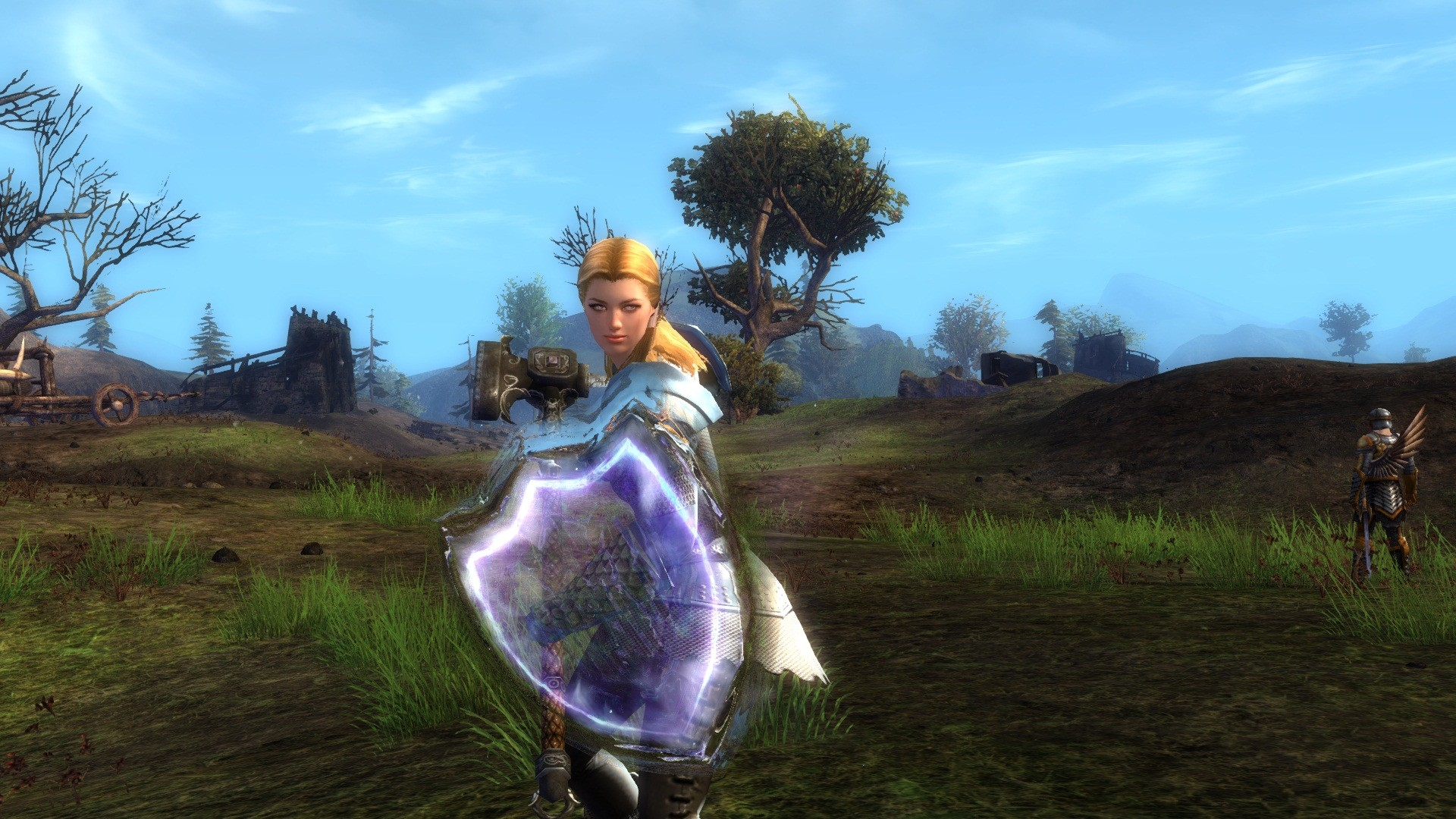 Guild Wars 2 - A Guardian Hunting Centaurs