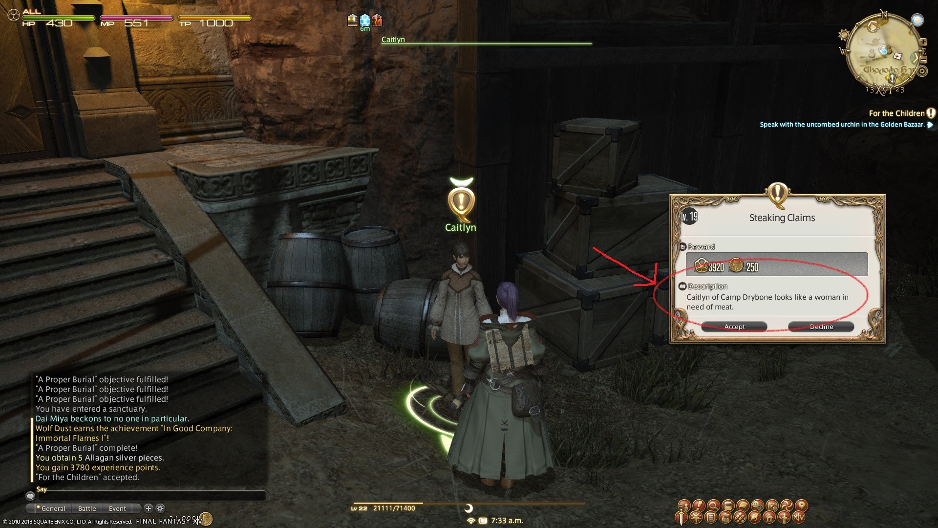Final Fantasy XIV: A Realm Reborn - Well well well.....