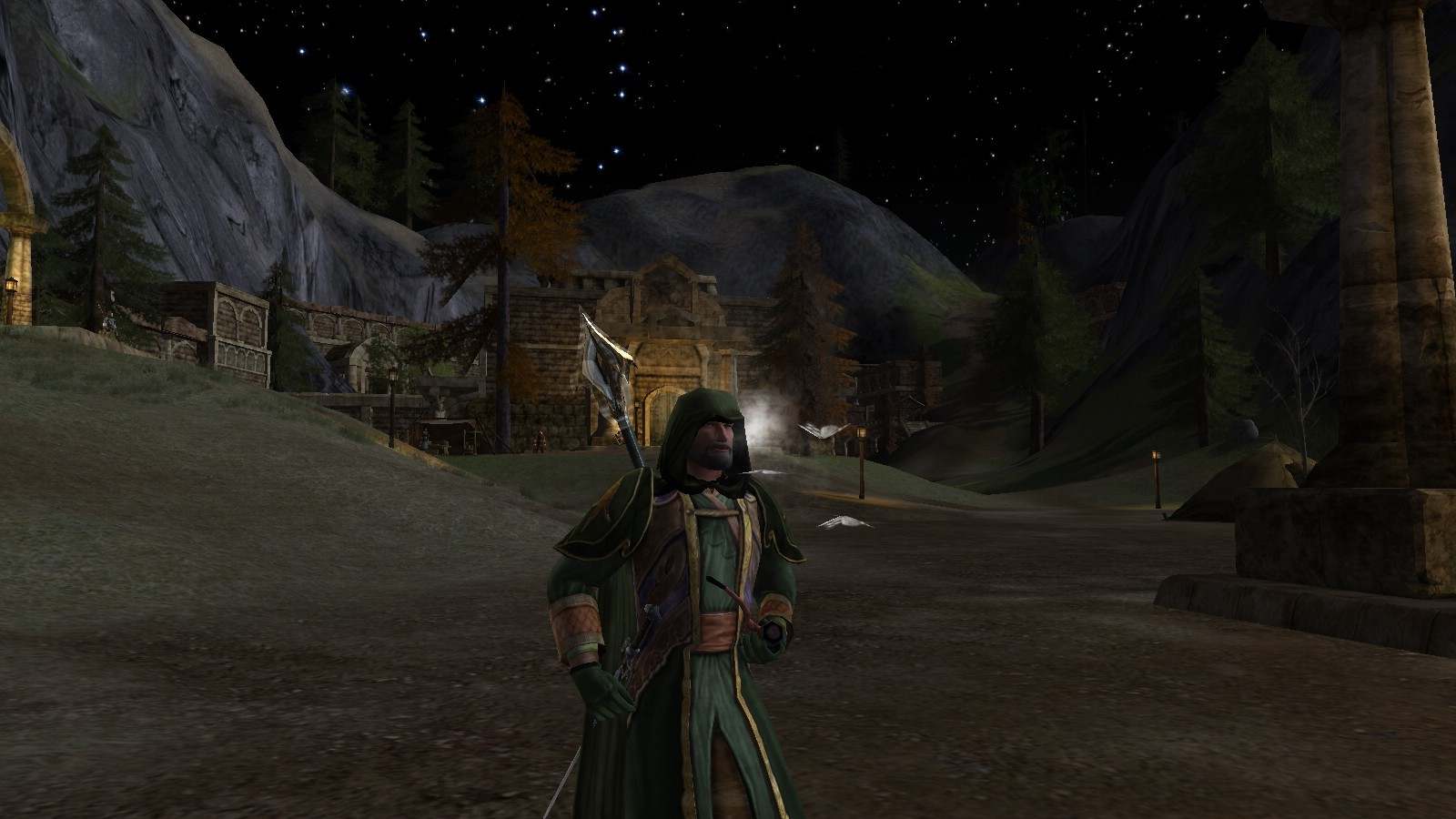 Lord of the Rings Online - Smoking in Esteldin