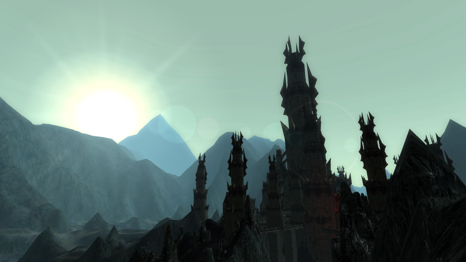 Lord of the Rings Online - Sunrise in Angmar