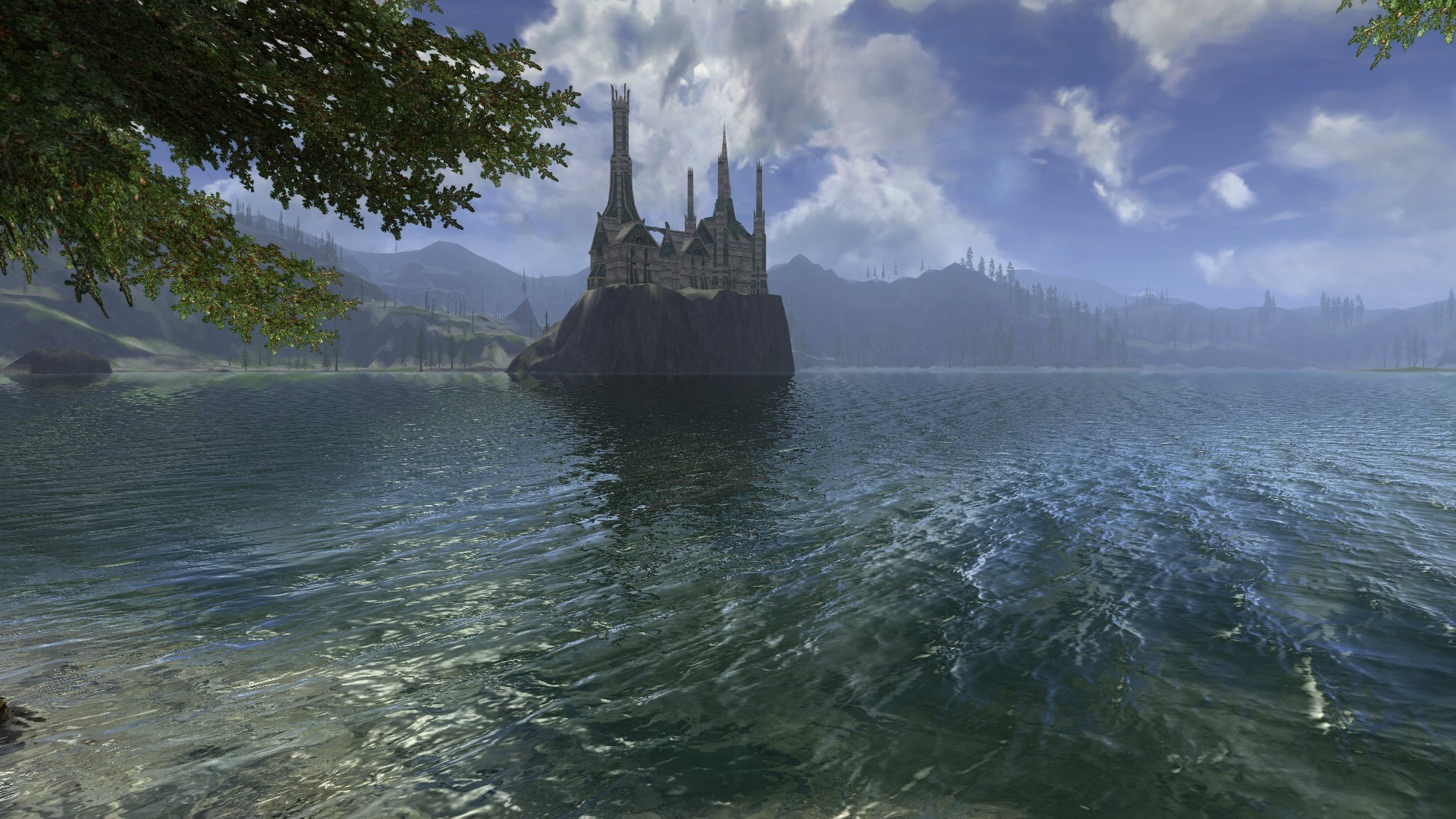 Lord of the Rings Online - View on Annuminas