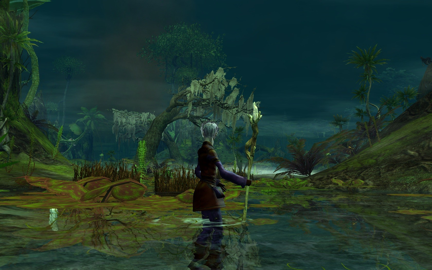Guild Wars 2 - Sylvari starter zone is the best one imo.