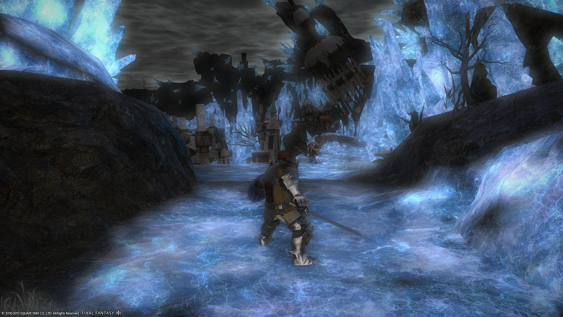 Final Fantasy XIV: A Realm Reborn - Everything is so shiny and glowy!