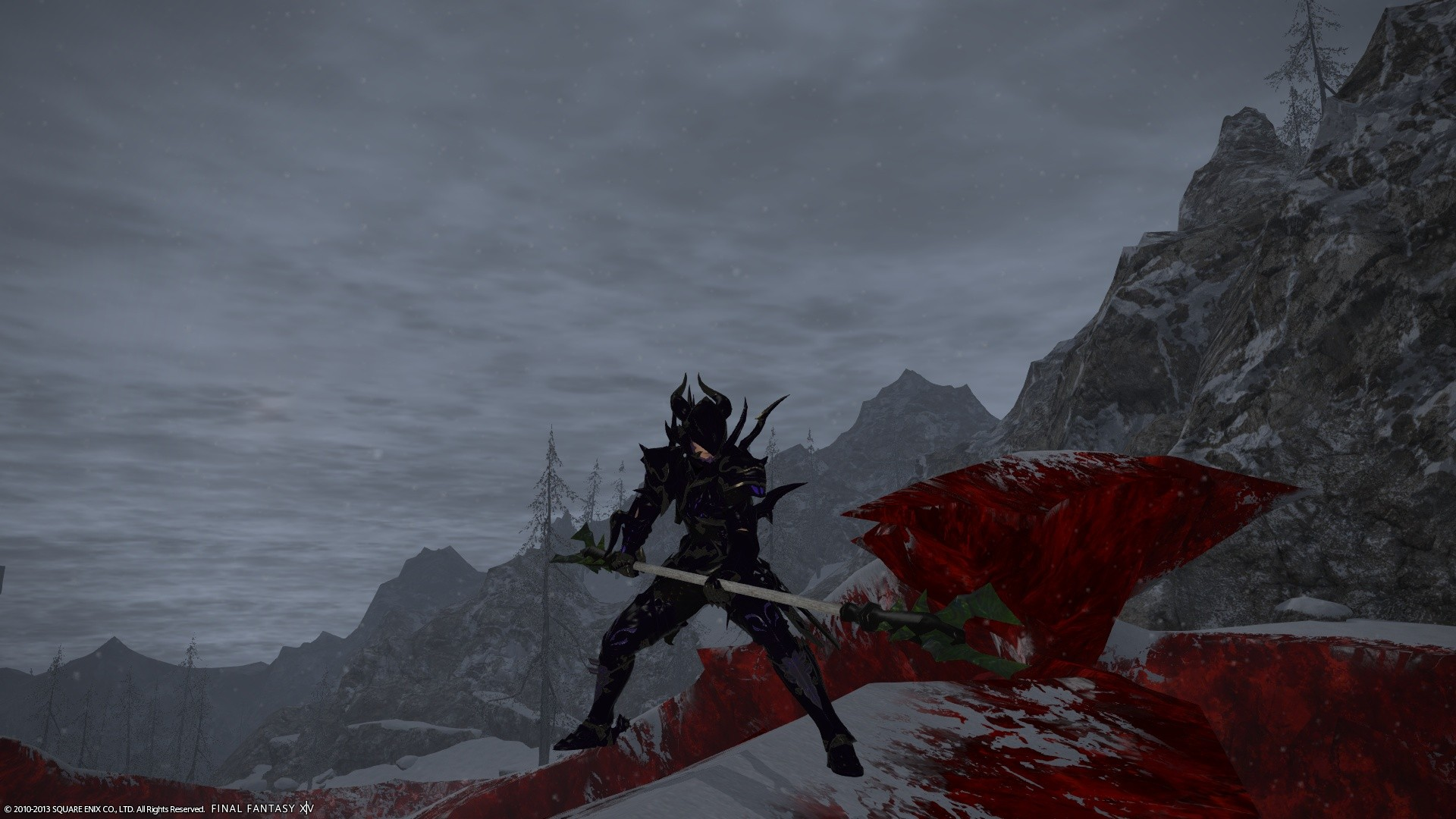 Final Fantasy XIV: A Realm Reborn - The dragoon