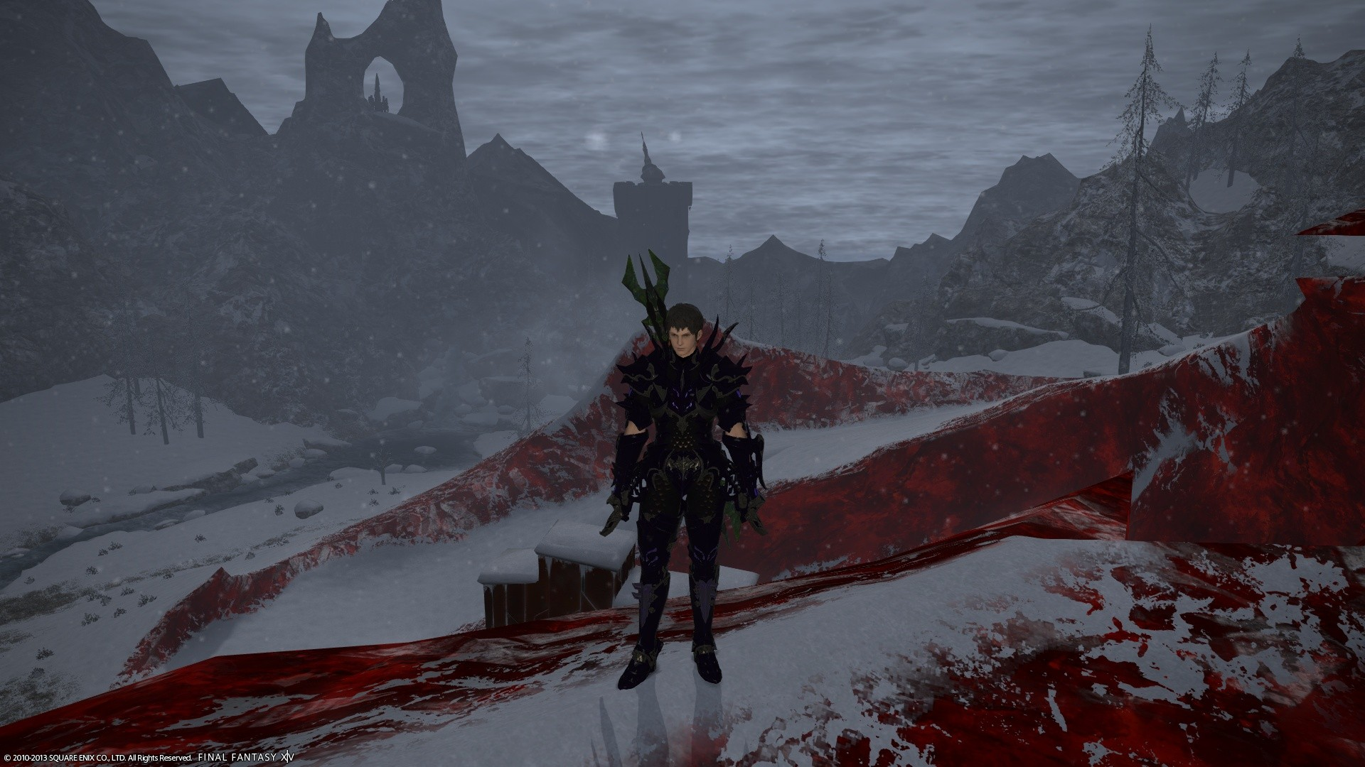Final Fantasy XIV: Heavensward - Brr its cold out here