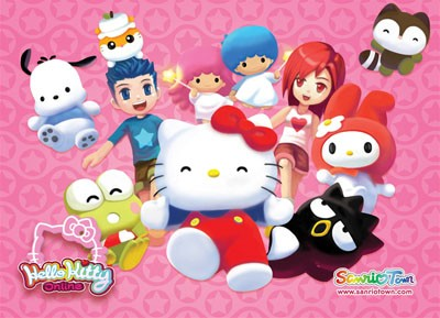 Hello Kitty Online - Hello Kitty Online Postcard