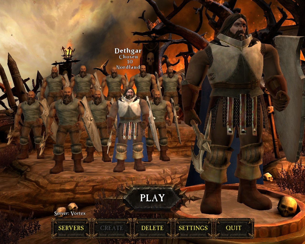 Warhammer Online: Age of Reckoning - Chaos Chosen Squad