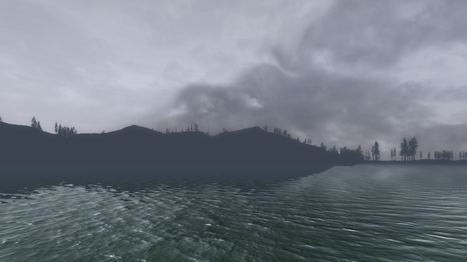 Lord of the Rings Online - Cloudy morning in Evendim