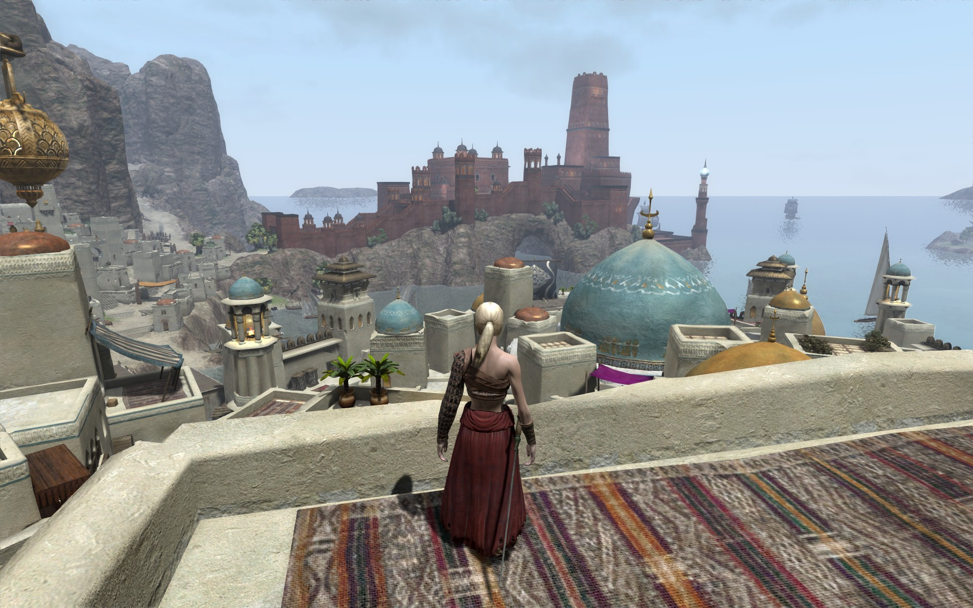 Age of Conan: Unchained - A view of Fort Ardashir