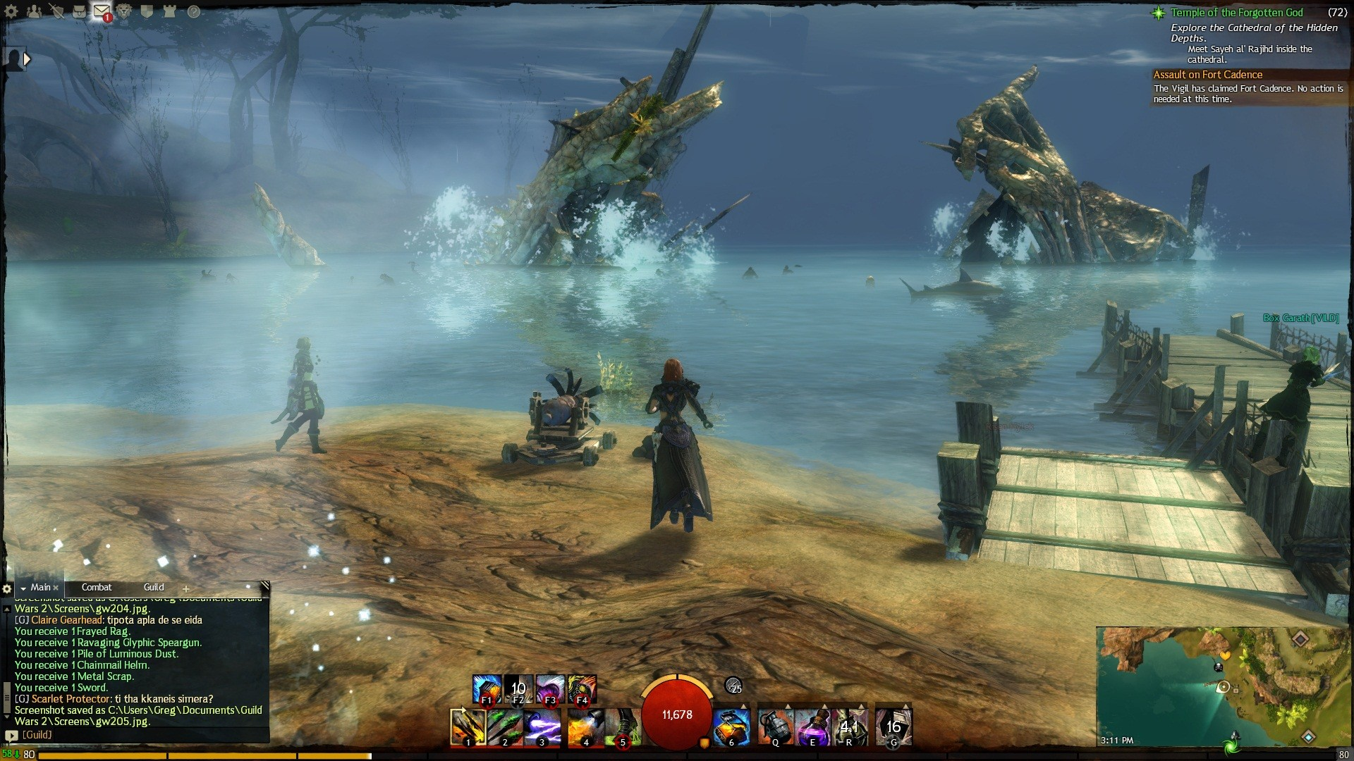 Guild Wars 2 - we sank the ship!