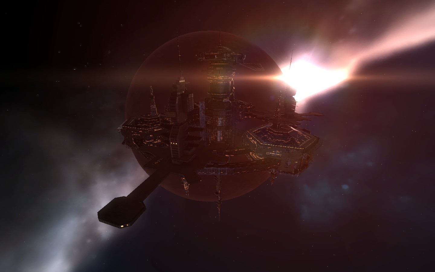 EVE Online - Dawn at the Republic Military School